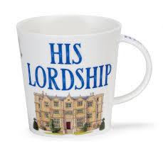 his and mug dunoon mug his lordship mug 16 2 oz