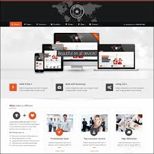 bootstrap sites templates 40 high quality business website templates