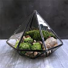 diy decor accessories glass vase hanging geometric terrarium micro