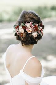 wedding flower hair best 25 bridal hair flowers ideas on bridesmaid hair
