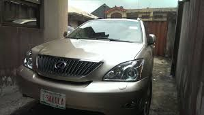 price of lexus jeep rx 330 in nigeria sold 2005 toks lexus rx330 neat ride for n2 6m negotiable