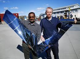 world record for fullerene free polymer solar cells