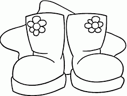 coloring pages cowboy boots coloring