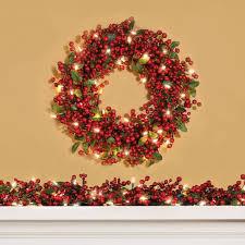 lighted christmas wreath outdoor lighted christmas wreath cordless 36237 astonbkk