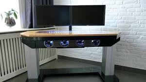 Diy Computer Desk Plans Diy Computer Desks Easy L Shaped Desk Diy Corner Computer Desk