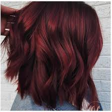 mulled wine hair is the coolest new hair color trend for winter