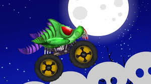monster trucks for kids videos scary monster truck halloween compilation scary videos for