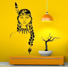 American Indian Decorations Home by Native American Wall Decal Vinyl Stickers American Indian