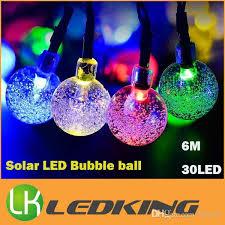 solar led christmas lights outdoor new arrival solar led bubble ball light led string outdoor led