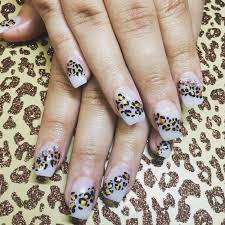 Nail Designs Cheetah 60 Acrylic Nail Designs Ideas Design Trends Premium Psd