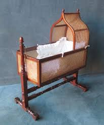 a magnificent mahogany and caned rocking rocking crib antiques atlas