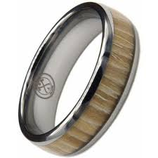 titanium wedding ring the mountain titanium or tungsten w zebra wood ring manly