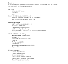 exle resumes for work experience resume how to write cv for year