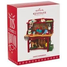 2017 hallmark santa s workbench keepsake ornament club exclusive ebay