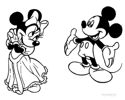 Printable Minnie Mouse Coloring Pages For Kids Cool2bkids Mickey Mouse Coloring Pages