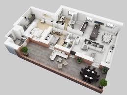 3d residential house floor plan 3d floor plan pinterest 3d