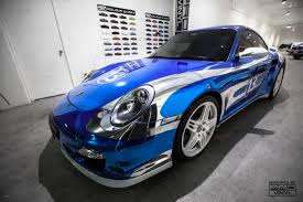 porsche wrapped car wraps