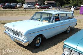 blue station wagon picture of 1964 ford falcon station wagon