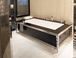 visionnaire portorose luxury italian bathtub in black lacquered wood