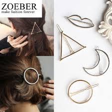 barrette hair zoeber moon barrette hair clip hair accessories popular leaf