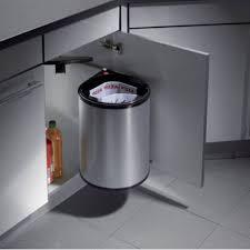 poubelle cuisine ouverture automatique poubelle de porte 20 l ouverture automatique accessoires de cuisines