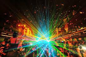 laser light show miami showtek at liv world red eye world red eye