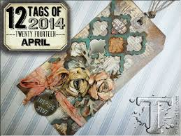 12 tags of 2014 april tim holtz