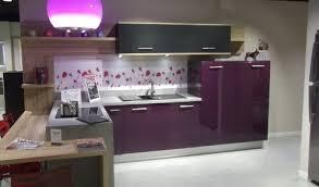 cuisine violette credence violette cuisine violette et grise elisabeth