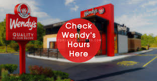 wendy s hours hours near me locations