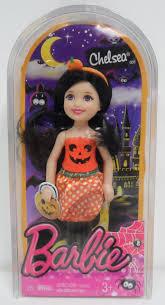 halloween barbie barbie halloween doll chelsea in pumpkin costume barbies