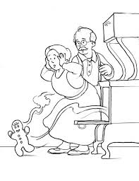 the gingerbread man coloring pages gingerbread men flee from oven coloring page gingerbread men flee