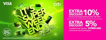 blibli weekend blibli com promo spesial super weekend diskon ekstra hingga 10