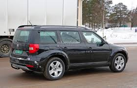 skoda yeti interior mysterious skoda yeti mule spied testing could preview much
