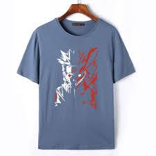 Meme Tshirts - flevans naruto mens t shirt funny anime t shirts summer fitness