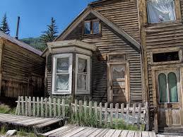file house with bay window main street st elmo colorado jpg