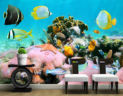 under the sea wall mural your decal shop nz designer wall art under the sea wall mural