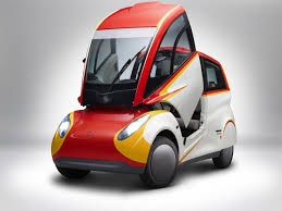 electric vehicles shell concept car delivers high efficiency takes on electric
