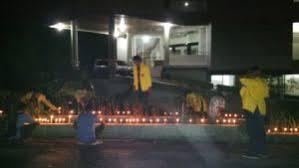 mahasiswa ukaw kupang gelar aksi 1000 lilin kaleku net