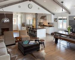excellent design small open floor plan farmhouse 12 with kitchen