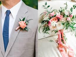 coral boutonniere calie wedding flowers utah