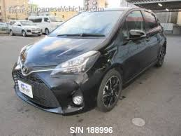 toyota yaris maintenance required light meaning toyota vitz yaris rs 2016 s n 188996 used for sale trust japan
