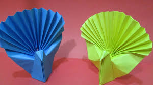 Easy Origami Peacock - how to make an easy origami peacock how to make paper peacock