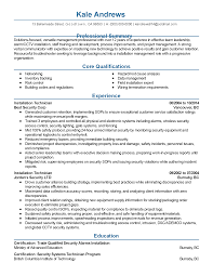trade resume examples professional installation manager templates to showcase your resume templates installation manager