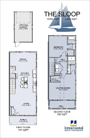 the gale floor plan southern gale townhomes at riverlights in wilmington nc
