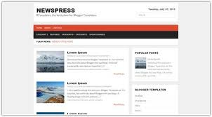 20 free news blogger templates u0026 theme web creative all