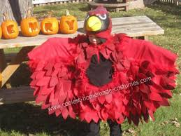Bird Halloween Costume Coolest Diy Cardinal Bird Kids Halloween Costume Cardinals