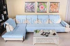 Sectional Sofa Cover Blue Furniture Slipcovers Ebay