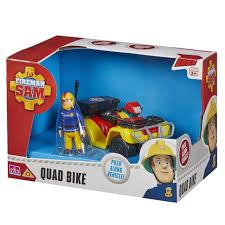 fireman sam quad bike vehicle figure rescue van ebay