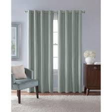 Seafoam Green Window Curtains by Green Curtains U0026 Drapes Window Treatments The Home Depot