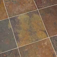 Carrelage Rouge Sol by Dalles Carrelage Ardoise Rusty 40x40 Indoor By Capri